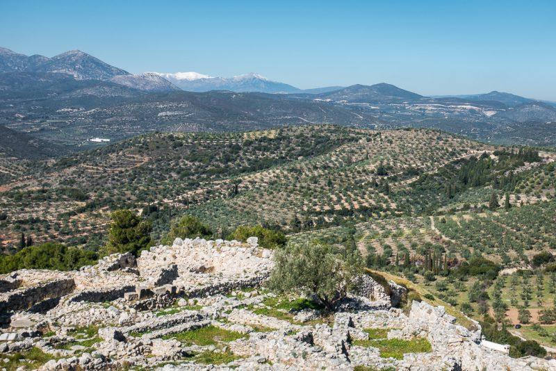 Blick über Peloponnes