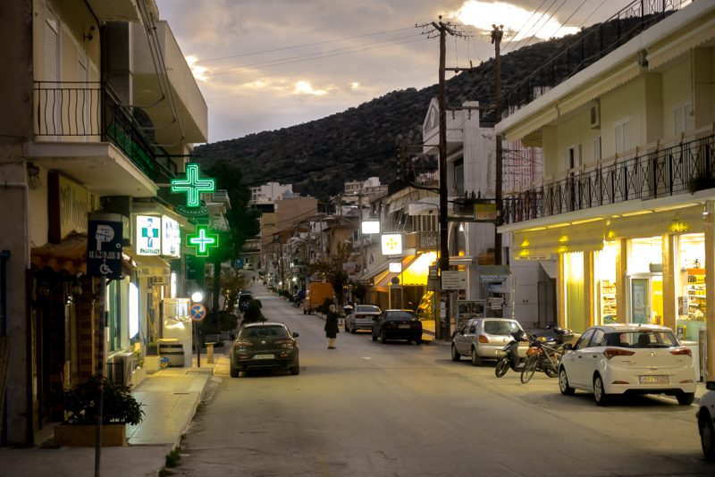 Die Straßen von Tolo