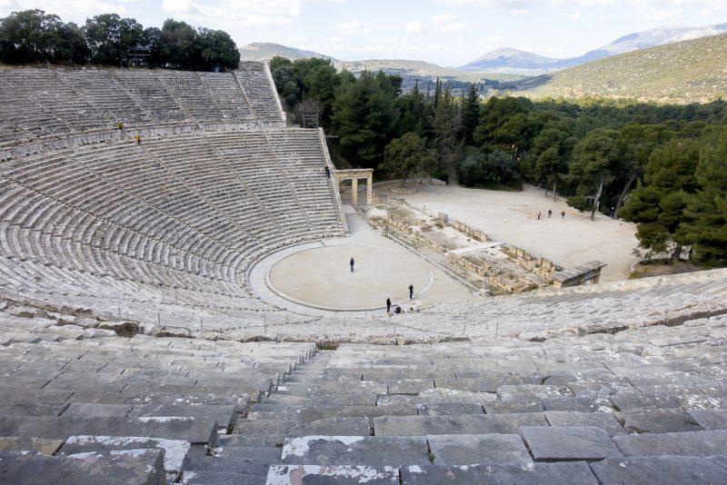 Das Theater von Epidauros